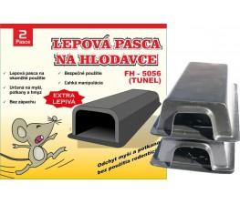 FH-5056 Lepová pasca na hlodavce - plastový tunel